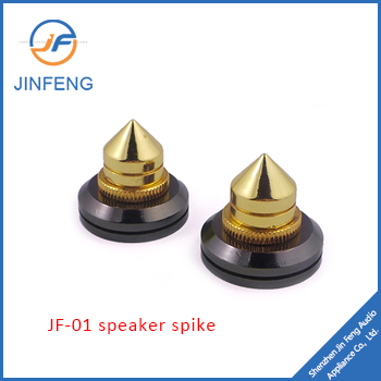 Copper speaker spike,shock absorber mat