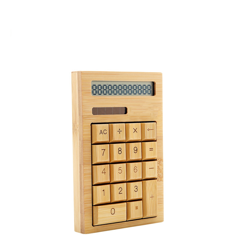 Bamboo solar calculator CS18