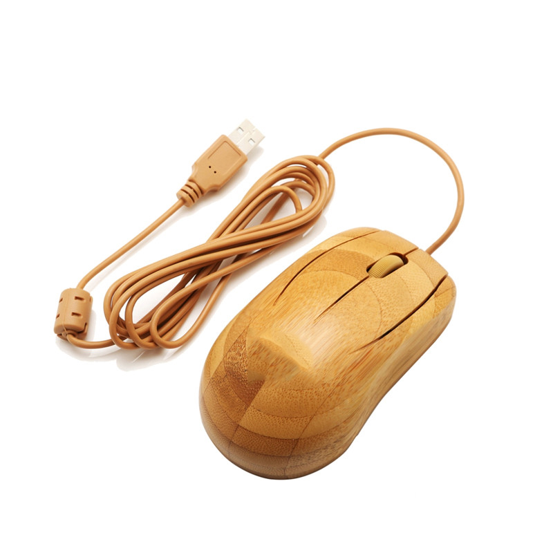 Wired bamboo mouse MU1063-N