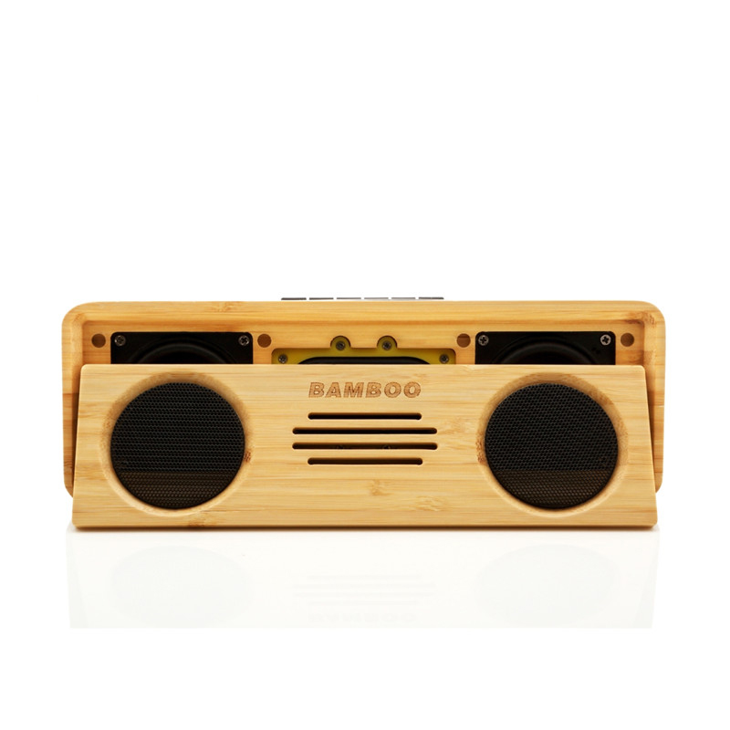 Wireless Bluetooth Bamboo Speaker S812