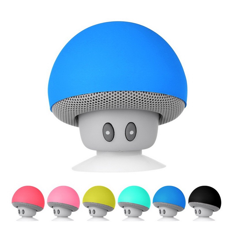 2018 trends WiFi Audio Waterproof Speakers Bluetooth , OEM Mushroom Mini Wireless Portable Bluetooth speaker